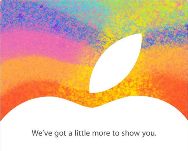 Apple iPad Mini and iPad 4 Release Event